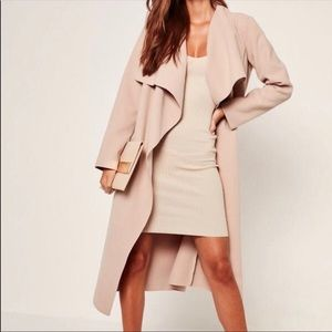 Missguided Waterfall Duster Coat 🍂